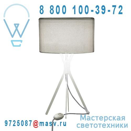 0LTXE.BAA.S450.010 fil gris Lampe Cotte de maille fil gris S - EASY Le Labo Design
