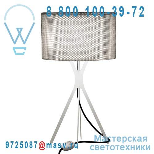 0LTXE.BAA.S600.010 fil noir Lampe Cotte de maille fil noir L - EASY Le Labo Design