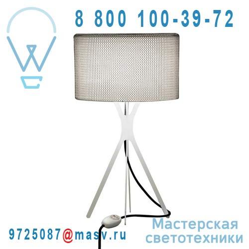0LTXE.BAA.S450.010 fil noir Lampe Cotte de maille fil noir S - EASY Le Labo Design