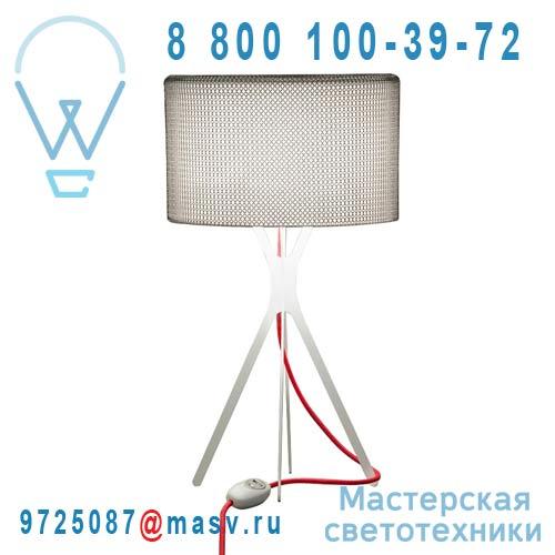 0LTXE.BAA.S450.010 fil rouge Lampe Cotte de maille fil rouge S - EASY Le Labo Design