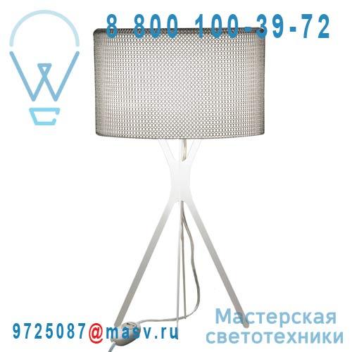0LTXE.BAA.S600.010 fil transparent Lampe Cotte de maille fil transparent L - EASY Le Labo Design