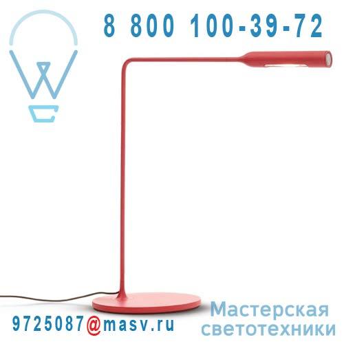 94003000 Lampe de bureau Rouge - FLO Lumina