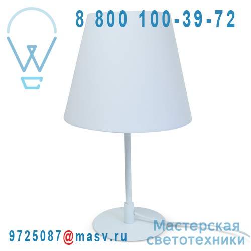 CS-D056 WH Lampe a poser Blanc/Blanc - MILANO Marbella Lighting