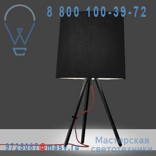 798/J/NE/NE Lampe a poser S Noir/Noir - EVA Martinelli Luce