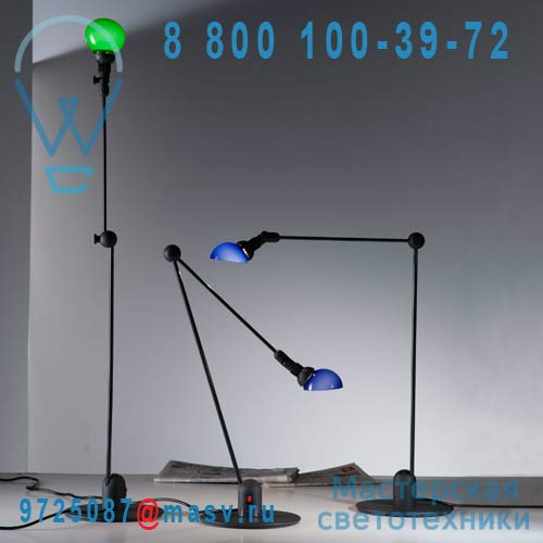 "736/BASE/H/V/BL Lampe a poser Bleu - L""AMICO Martinelli Luce"