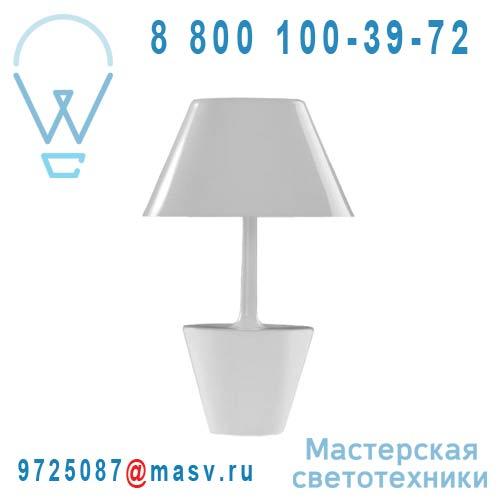 462502500 Lampe a poser Teresa Blanc - LAS SANTAS Metalarte