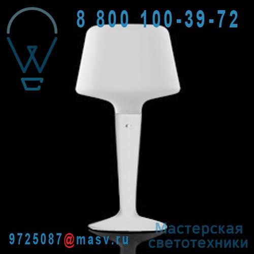 454402500 Lampe Blanc S - LUZIA Metalarte