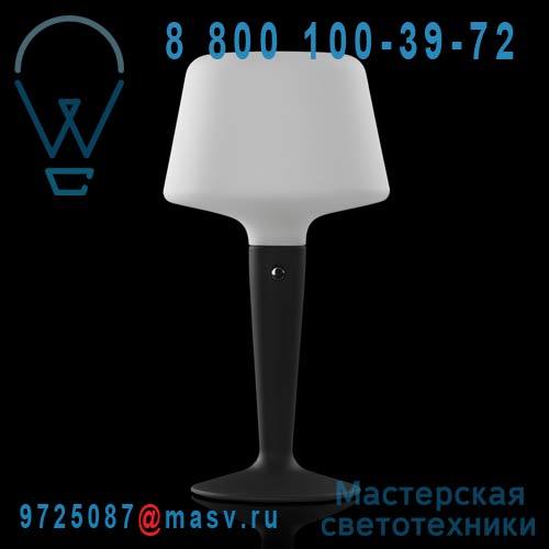 454404700 Lampe Noir S - LUZIA Metalarte