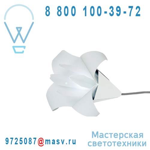 LILIUM Blanc/blanc Lampe Blanc/blanc - LILIUM Nathalie Be