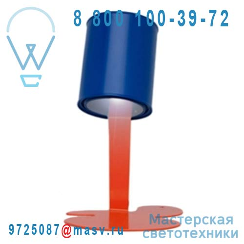 "P""TITE OUPS Orange/bleu Lampe Orange/bleu - P""TITE OUPS Nathalie Be"