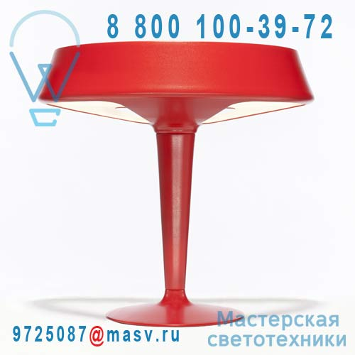 Aerodrome red Lampe de table Rouge - AERODROME Northern Lighting
