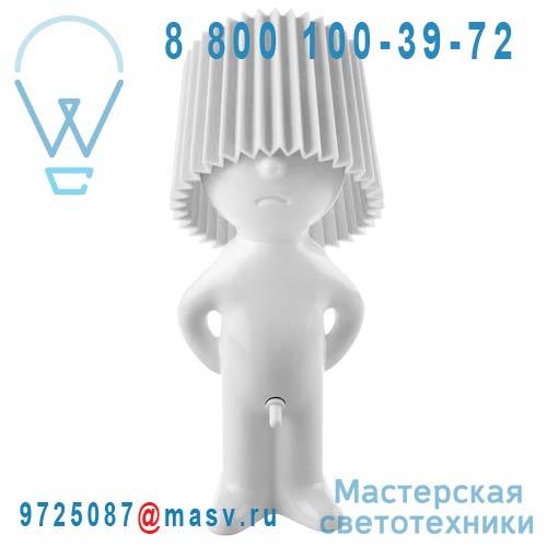 1261902 Lampe a poser Blanc/Blanc - MR P ONE MAN SHY Propaganda