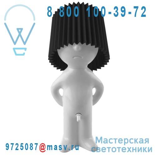 1261906 Lampe a poser Blanc/Noir - MR P ONE MAN SHY Propaganda