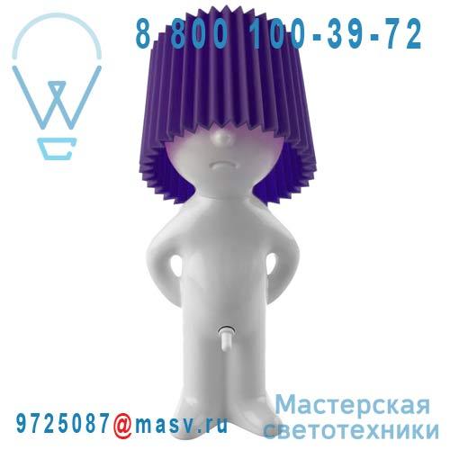 1261907 Lampe a poser Blanc/Violet - MR P ONE MAN SHY Propaganda