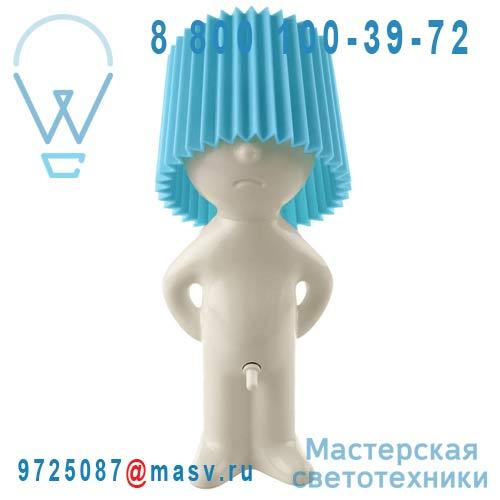 1261101 Lampe a poser Ivoire/Bleu - MR P ONE MAN SHY Propaganda