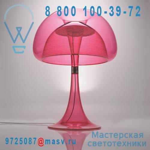 JF11-D Pink / 9H.W1LQD.WQ2 Lampe a poser LED Rose - AURELIA QisDesign