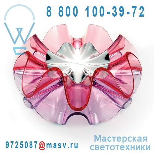 LC11-D Pink / 9H.W1MQD.WQ2 Lampe a poser LED Rose - FLAMENCA QisDesign