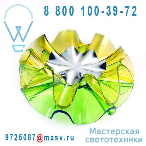 LC11-D Green / 9H.W1MQD.WQ1 Lampe a poser LED Vert - FLAMENCA QisDesign