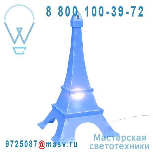 TE6 Lampe a poser Bleu - TOUR EIFFEL Rosemonde et Michel Coudert
