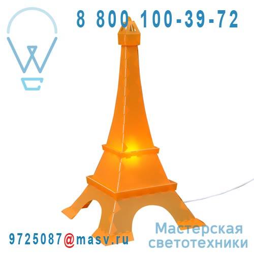 TE5 Lampe a poser Orange - TOUR EIFFEL Rosemonde et Michel Coudert