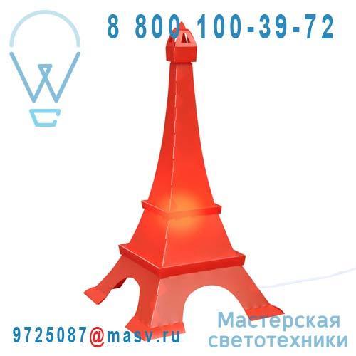 TE4 Lampe a poser Rouge - TOUR EIFFEL Rosemonde et Michel Coudert
