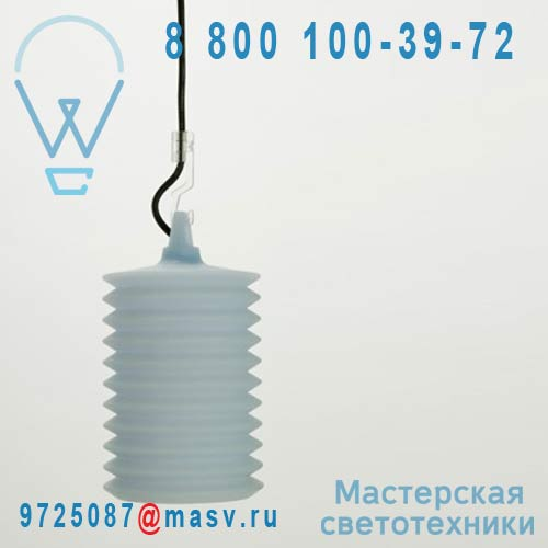 1LPH2 001 00DB0 Suspension exterieur bleu clair - LAMPION Rotaliana