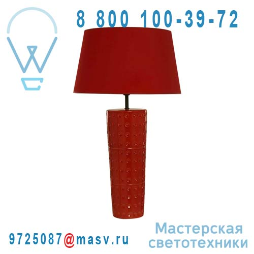 M 1003 R Lampe a poser M Rouge - BILLE Sampa Helios