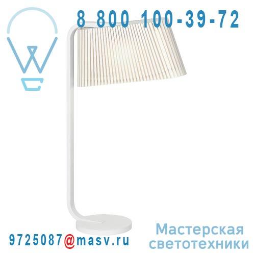 16 7020 01 Lampe Bois Blanc - OWALO Secto Design