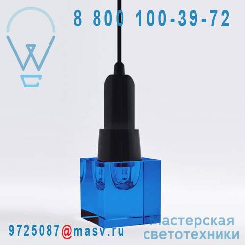 10721 BLU + 10727 Lampe a poser Carre Bleu - CRYSTALED Seletti