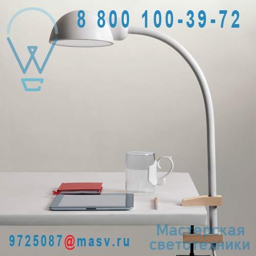07080 BIA Lampe de Bureau a etau Blanc - SOFTCLAMP Seletti