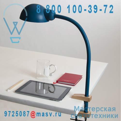 07080 BLU Lampe de Bureau a etau Bleu - SOFTCLAMP Seletti