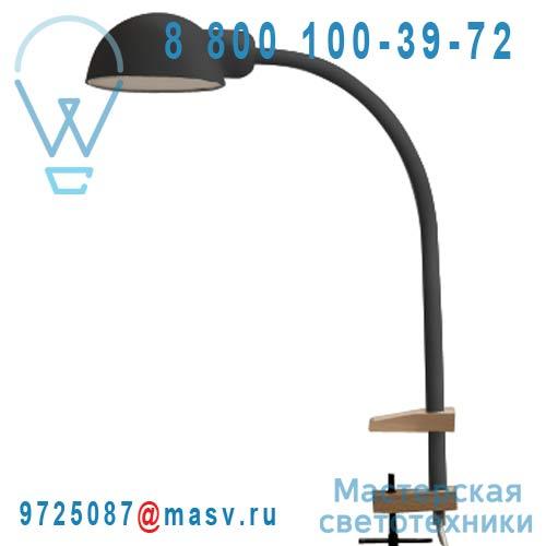 07080 GRI Lampe de Bureau a etau Gris - SOFTCLAMP Seletti