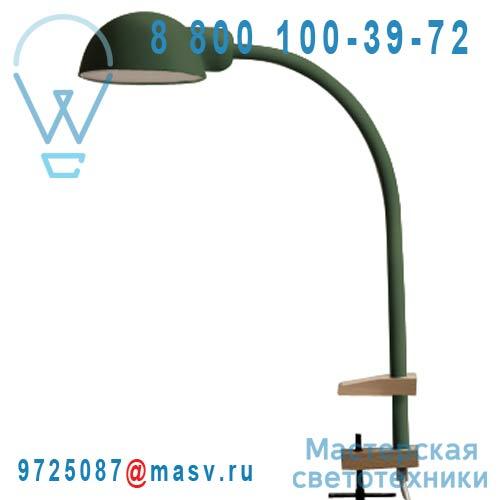 07080 VER Lampe de Bureau a etau Vert - SOFTCLAMP Seletti