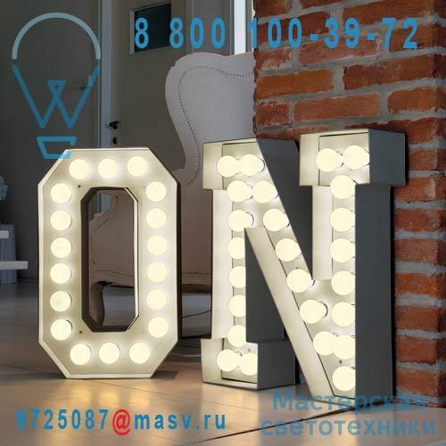 01408 N Lampe a poser Lettre Geante N - VEGAZ Seletti