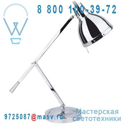 0038937 Lampe a poser Chrome - CYNTHIA Seynave