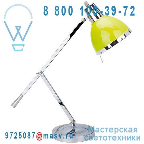 0118523 Lampe a poser Vert/Chrome - CYNTHIA Seynave