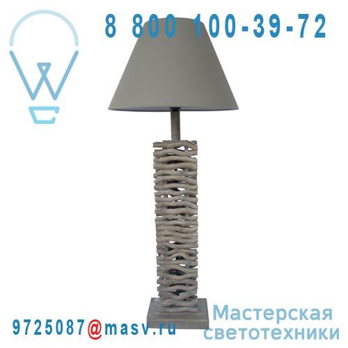 0135742 Lampe a poser Bois Gris - FAGOT Seynave