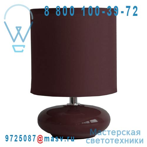 0126313 Lampe a poser Chocolat - ZOE Seynave