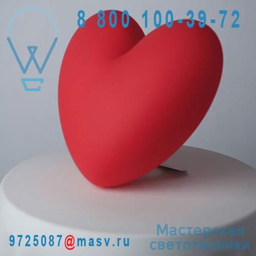 SD LOV021D Lampe rouge - LOVE Slide