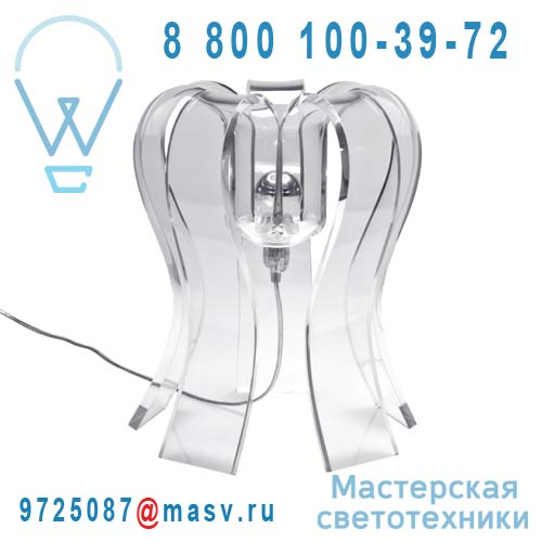 8215061104007 Lampe a poser Transparent - OCTOPUS Sllov