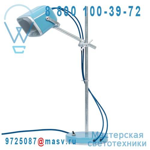 MOB - 11BL06 Lampe a poser Bleu fil bleu - MOB Swabdesign