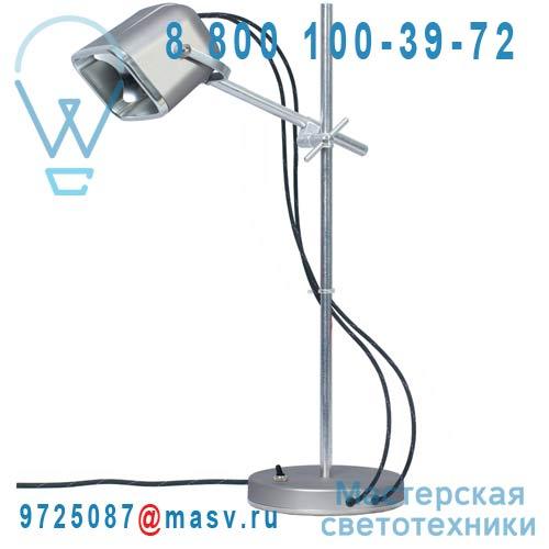 MOB - 11GR02 Lampe a poser Gris mat fil noir - MOB Swabdesign