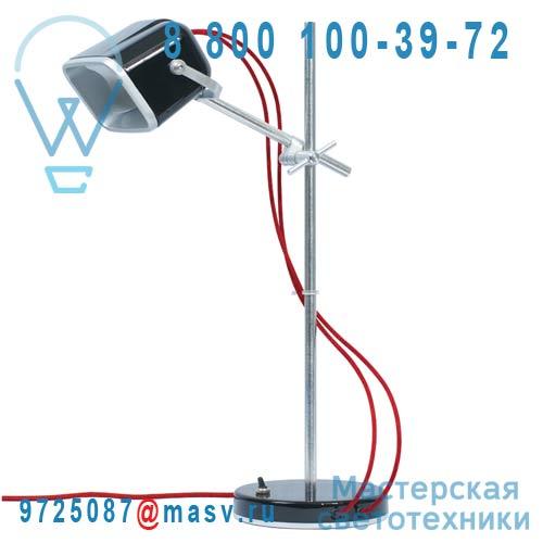 MOB - 11NR04 Lampe a poser Noir fil rouge - MOB Swabdesign