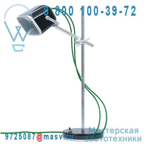 MOB - 11NR07 Lampe a poser Noir fil vert - MOB Swabdesign