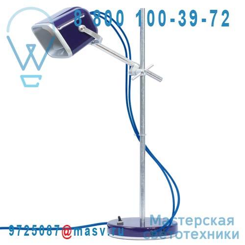MOB - 11PR06 Lampe a poser Prune fil bleu - MOB Swabdesign
