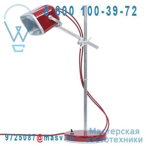 MOB - 11RG04 Lampe a poser Rouge fil rouge - MOB Swabdesign