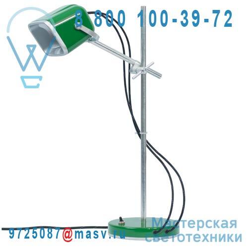 MOB - 11VR02 Lampe a poser Vert fil noir - MOB Swabdesign