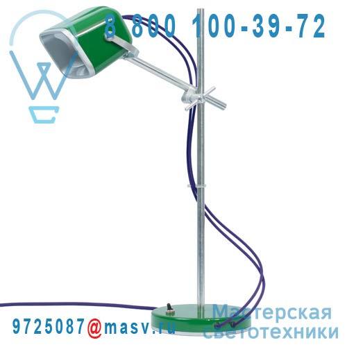 MOB - 11VR05 Lampe a poser Vert fil prune - MOB Swabdesign