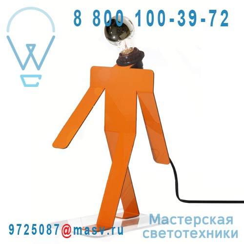 MOONWALK COSMO lampe a poser ORANGE Lampe a poser Orange - MOONWALK COSMO Thomas de Lussac