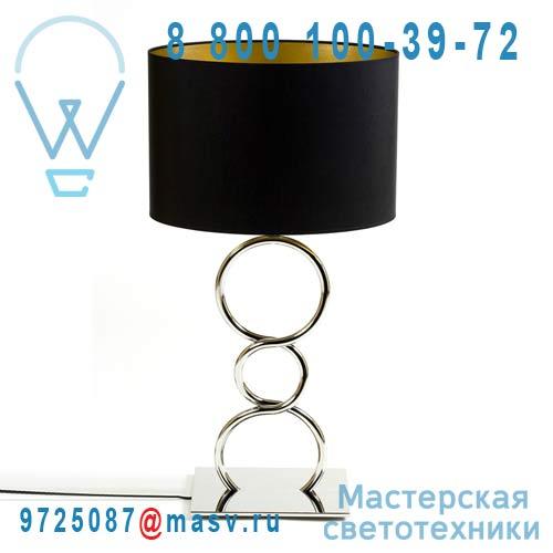 ROUND & ROUND Lampe a poser Noir Lampe a poser Noir - ROUND & ROUND Thomas de Lussac